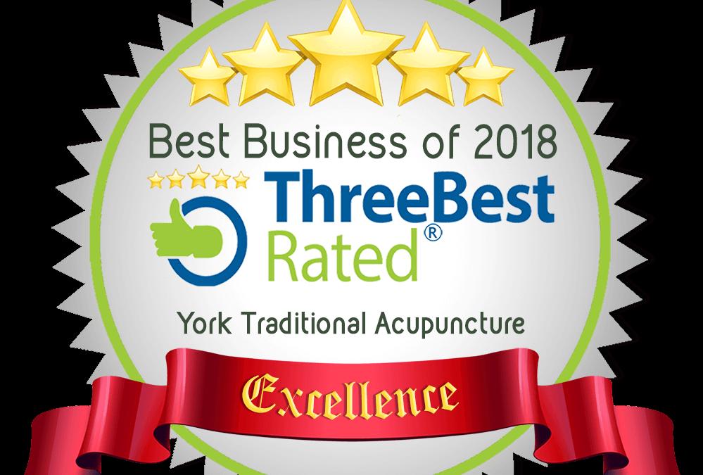 Three Best Rated Acupuncturist 2018